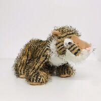 "Webkinz GANZ  9"" Fuzzy Stripey Brown Tiger - HM032  Plush Collectable Toy"