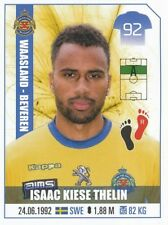 357 ISAAC KIESE THELIN SWEDEN WAASLAND-BEVEREN STICKER FOOTBALL PRO LEAGUE 2018