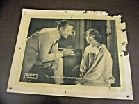 "1918 Paramount Pictures Silent Film Lobby Card ""Less Than Kin"" (#AT023)"