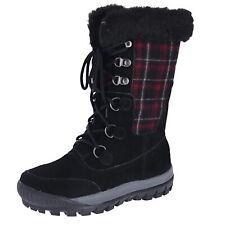 Bearpaw Lotus Black II Womens Snow Boots Size 10M