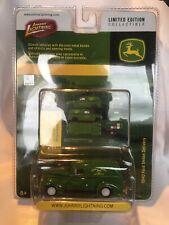Johnny White Lightning John Deere Green 1940 Ford Sedan Delivery
