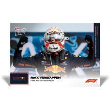 🏎 🏁 2 Card Set! - Max Verstappen & Lando Norris-Formula 1- F1 TOPPS NOW 4 & 5