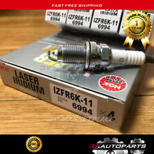 NGK Laser Iridium Spark Plug For Honda Accord Civic CRV Acura IZFR6K11 6994 4PCS