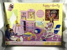MATTLE BARBIE HAPPY  FAMILY NURSERY PLAYSET 2002 NRFB