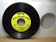 Old 45 RPM Record - Verve KF 5054 - The Look - If I Were a Carpenter / Can You D