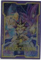 "Plastic Gold Foil//Korean Yu-Gi-Oh /""Dark Magician/"" Field center card LGB1-KRFC1"