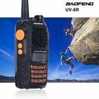 BAOFENG UV-6R Walkie-Talkie VHF UHF  Hand-Funkgerät 7W Bis zu 15 KM Kopfhörer