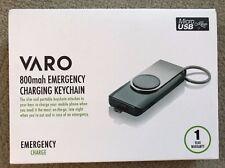 VARO 800mah Emergency Charging Keychain Micro USB mobile battery extra