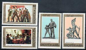 Albania 1973, mi 1630-33, set MNH**