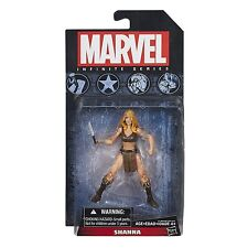 "2014 HASBRO MARVEL UNIVERSE INFINITE SERIES SHANNA 4"" ACTION FIGURE MOC NEW"
