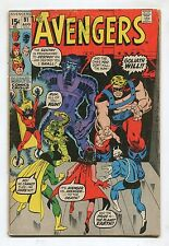 "Avengers #91 - ""Take One Giant Step Backward!"" - 1971 - (Grade 3.5)"