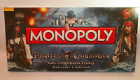 Pirates of the Caribbean Monopoly On Stranger Tides NEW USAopoly Collectors Ed