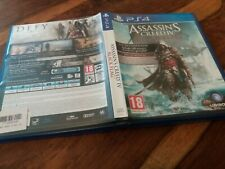 REPLACEMENT CASE For Assassins Creed IV 4 Black Flag NO GAME on Sony PS4 VGC