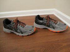 Lightly Used Worn Size 13, Width 4E Asics Gel Venture 6 Shoes Gray Black Orange