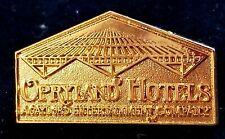 OPRYLAND HOTELS AGAYLORD  NASHVILLE TRAVEL PIN GOLD COLOR