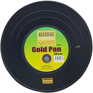 Gold Pan - Black 26cm Bush Tracks