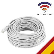 ACTECOM® CABLE DE RED 5 METROS RJ45 CAT 5E UTP ETHERNET PC ROUTER INTERNET