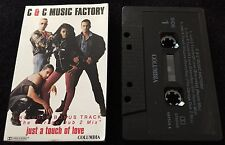 Just A Touch of Love ~ C & C MUSIC FACTORY Cassingle (Cassette Tape Single)