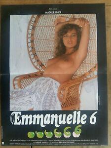 Poster Emmanuelle 6 Bruno Zincone Natalie Uher Erotic 15 11/16x23 5/8in