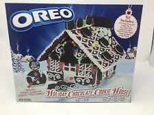 New OREO HOLIDAY GINGERBREAD CHOCOLATE COOKIE HOUSE KIT 30 OZ HTF Exp 2/2020