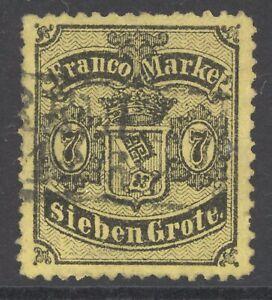 Bremen Mi. Nr. 13 gest. Fotoattest Dr. Fischer BPP 5.500 Euro