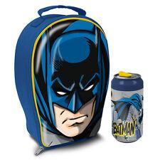 Batman 3D EVA borsa porta pranzo & Lattine Bibite NUOVO