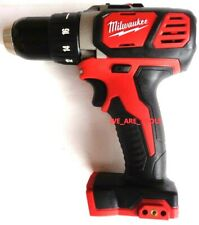 "New Milwaukee M18 2606-20 Cordless Compact Drill 1/2"" Driver Metal Gear 18 Volt"