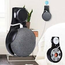 Wall Outlet Mount Holder Hanger Stand Grip fr Google Home Mini Voice Assistant