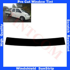 Pre Cut Window Tint Sunstrip for VW T5 4 Doors 2007-... Any Shade