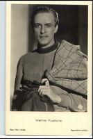 WERNER FUETTERER Schauspieler ca. 1950/60 Porträt-AK Postkarte Film Foto Verlag