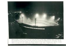 1954 POLO GROUNDS NEW YORK GIANTS 8X10 PHOTO AERIAL SHOT  BASEBALL BOXING