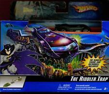THE BATMAN: THE RIDDLER TRAP HOT WHEELS PLAYSET