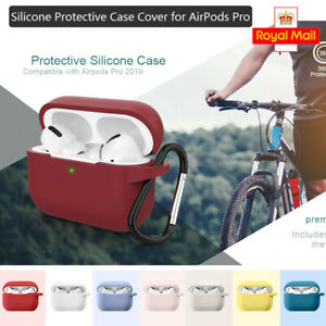For Apple AirPods Pro Case Cover Silicone Skin Ultra Slim Holder AirPod 3 Case