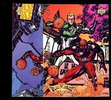 2 Card Lot Michael Jordan 1992 UPPER DECK FANIMATION #506 & 510 (Q)