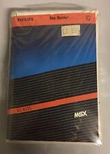 """Cassetta """"Sea Harrier"""" per MSX (VG 8195)"""