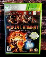 Mortal Kombat:Komplete Edition - XBOX 360 - Microsoft XBO 360 - Brand NEW Sealed