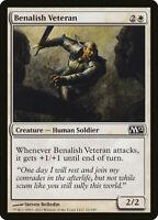 1X FOIL Benalish Veteran MTG Magic CORESET 2012 M12 10/227