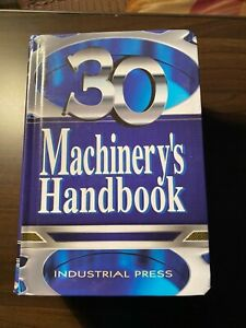 Machinery's Handbook 30th edition Toolbox Edition Hardcover