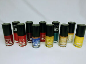 Maybelline Color Show Nail Lacquer Assorted Colors - PICK ONE or more! NEW
