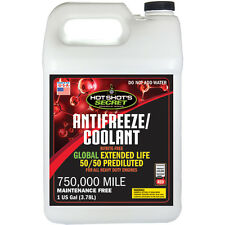 1 GAL Hot Shot's Secret Red 750,000 mile 50/50 Antifreeze/Coolant