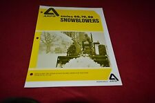 ARPS 60 70 80 Snowblower Dealers Brochure YABE11