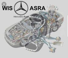 New 2018 Mercedes WIS/ASRA & EPC Dealer Service Repair Workshop Manual 1986-2018