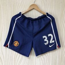 MANCHESTER UNITED FOOTBALL SOCCER SHORTS #32
