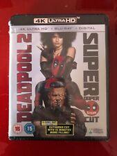 Deadpool 2 4k UHD Plus Digital Download Blu-ray 2018