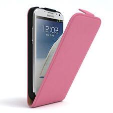 Tasche für Samsung Galaxy Note 2 Flip Case Schutz Hülle Cover Rosa