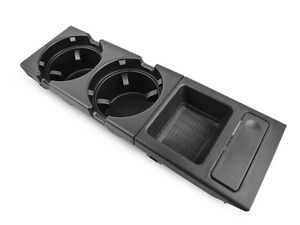 BMW 3 SERIES E46 NEW GENUINE CUP/CAN/DRINKS HOLDER WITH COIN STORAGE SET PAIR