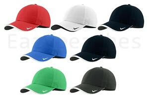 Nike Authentic Dri-FIT Swoosh Low Profile Embroidered Perforated Baseball Cap