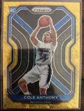 2020-21 Panini Gold Shimmer Prizm #292 Cole Anthony Magic RC Rookie 2/10