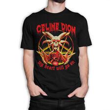Celine Dion My Heart Will Go On Vintage Rock T-Shirt, Men's Women's All Sizes