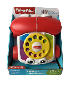 Fisher Price - Chatter Phone Sensory Imagination Gross Motor Toy 12 Month NEW!